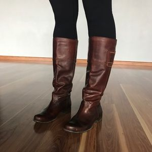 Frye Signature Tall Brown Boots